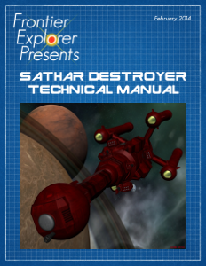 Sathar Destroyer Technical Manual cover image
