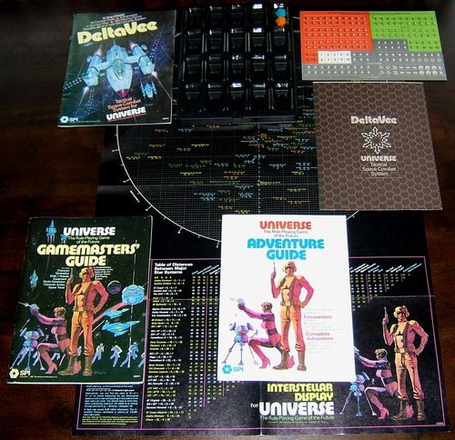 Universe RPG Game Components