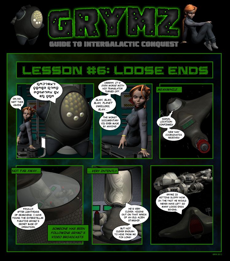 Grymz Guide Comic #6
