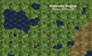 Karimeko Region map