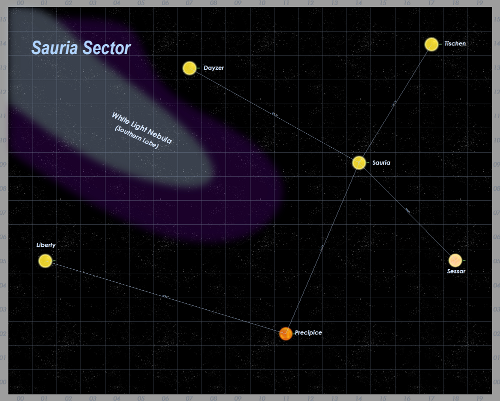 Sauria Sector Map