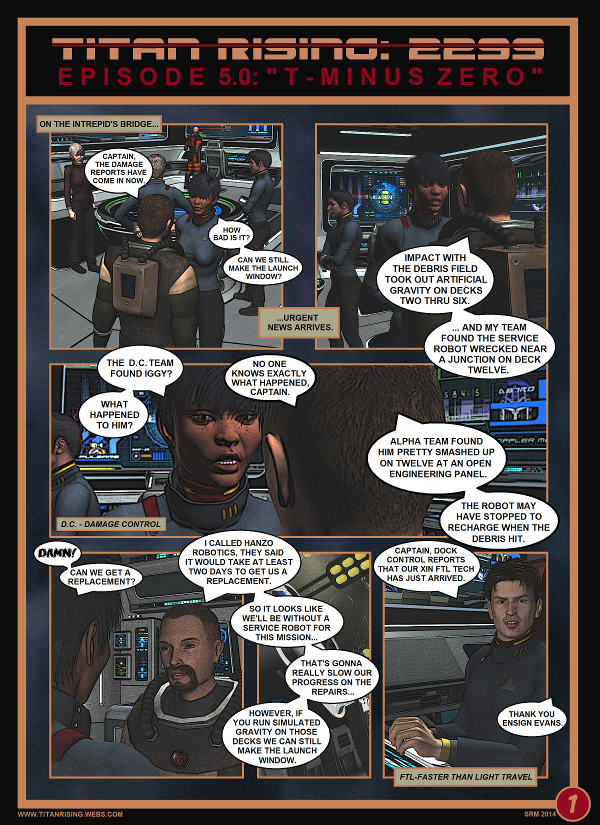 Titan Rising: 2299 - episode 5 page 1