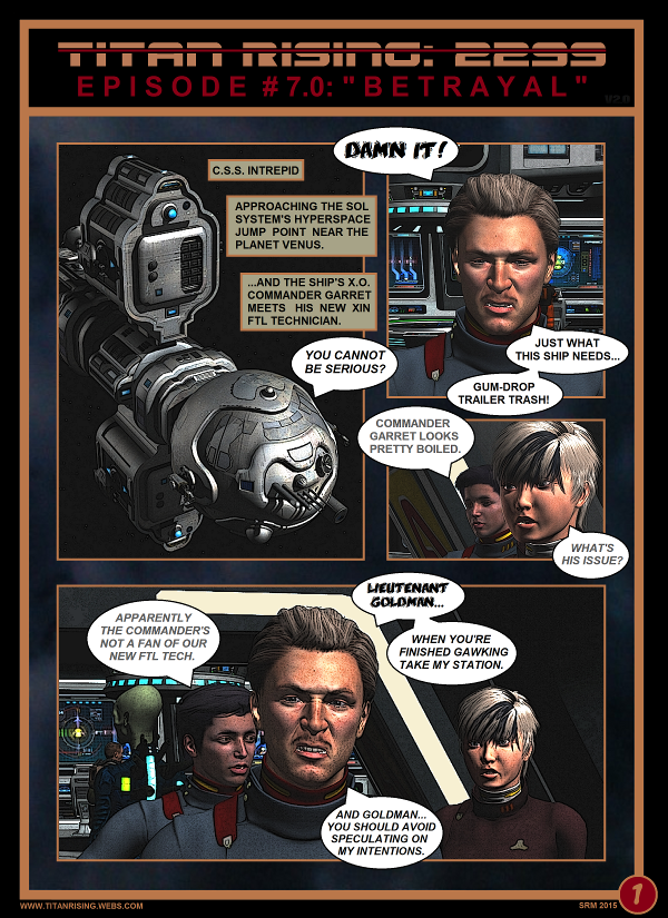 Titan Rising: 2299 - Episode 7 page 1