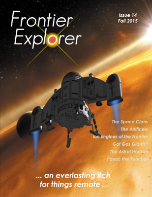 Frontier Explorer Issue 14 Cover