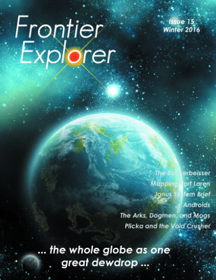 Frontier Explorer issue 15 cover