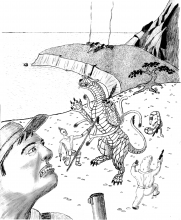 Saurians and Frontier races battle a quickdeath and sathar