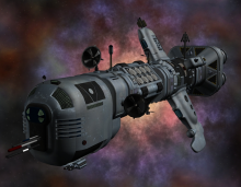 Talnor Class Communications Ship concept image