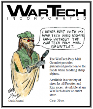 WarTech Gauntlet ad with Jurak Hagna