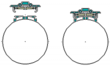 NGT-1000 Cargo Clamps